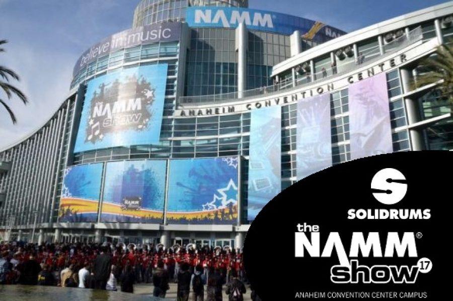 Solidrums dice presente nuevamente en la NAMM