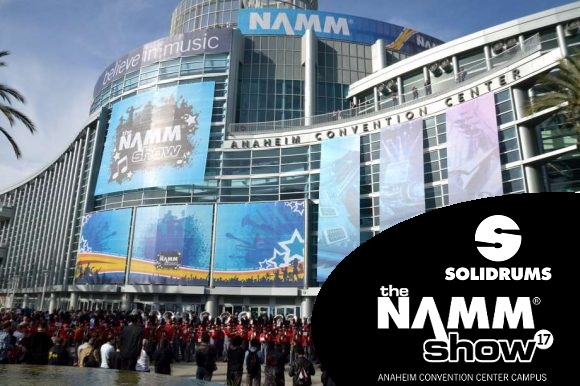 Solidrums dice presente nuevamente en la NAMM